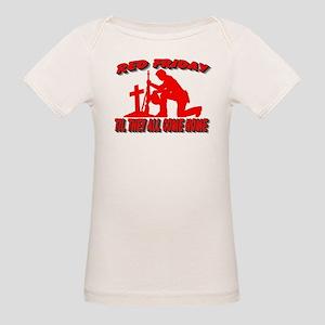 red friday prayer Organic Baby T-Shirt