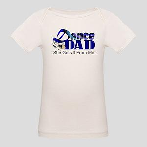 Dance Dad Organic Baby T-Shirt