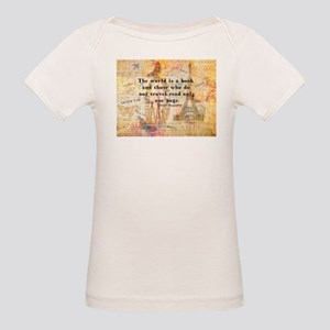 The World is a Book quote T-Shirt