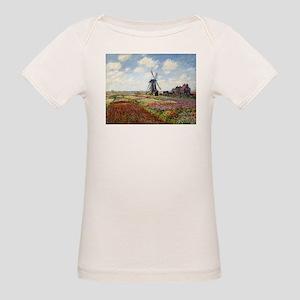 Monet Fields Of Tulip Organic Baby T-Shirt
