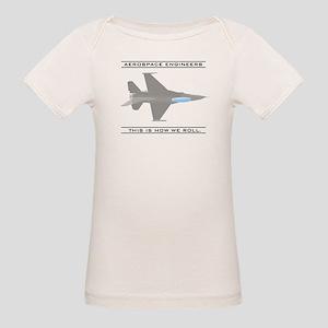 Aero Engineers: How We Roll Organic Baby T-Shirt