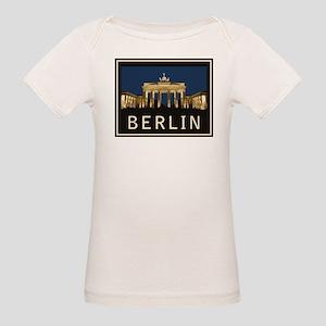 Berlin Brandenburg Gate Organic Baby T-Shirt