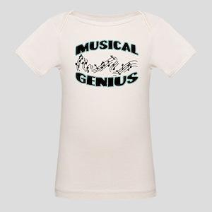 Musical Genius Organic Baby T-Shirt