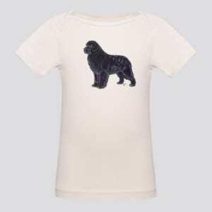 Newfoundland Black Organic Baby T-Shirt