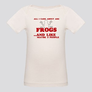 All I care about are Frogs T-Shirt
