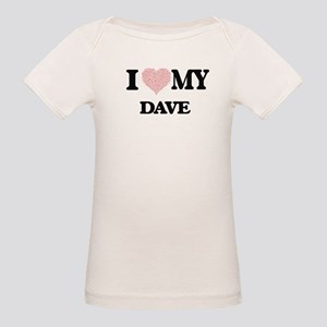 I Love my Dave (Heart Made from Love my wo T-Shirt