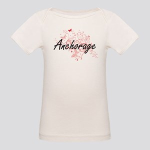 Anchorage Alaska City Artistic design with T-Shirt