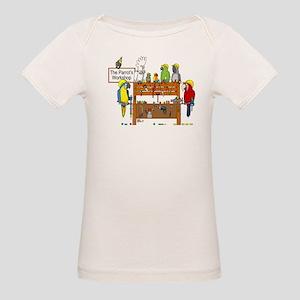 The Parrot's Workshop Logo Organic Baby T-Shirt