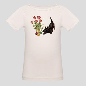 EASTER SCOTTIE Organic Baby T-Shirt