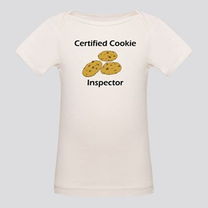 Certified Cookie Inspector Organic Baby T-Shirt
