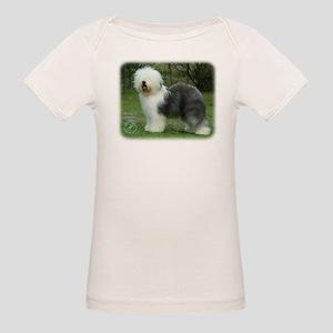Old English Sheepdog 9F054D-17 Organic Baby T-Shir