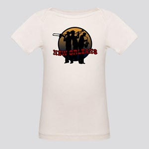 New Orleans Jazz Players Organic Baby T-Shirt