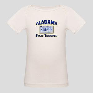 Alabama State Trooper Organic Baby T-Shirt