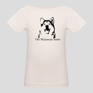 The Malamute Smile Organic Baby T-Shirt