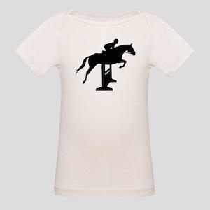 Hunter Jumper Over Fences Organic Baby T-Shirt