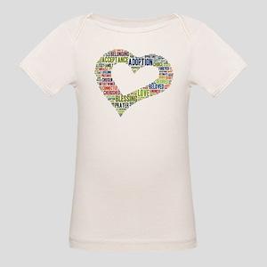 heart fulfilled Organic Baby T-Shirt