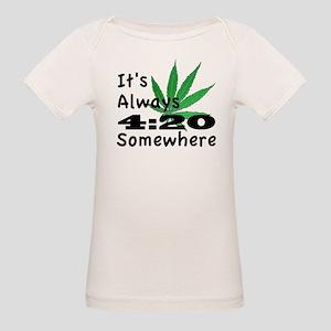 420 Organic Baby T-Shirt