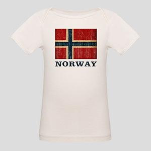 Vintage Norway Organic Baby T-Shirt