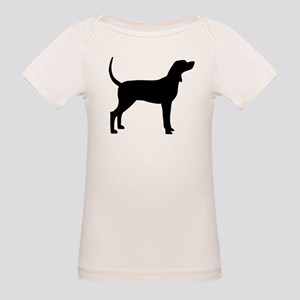 Coonhound Dog (#2) Organic Baby T-Shirt