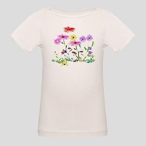 Flower Bunch Organic Baby T-Shirt