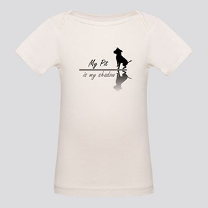 My Pit is my shadow Organic Baby T-Shirt