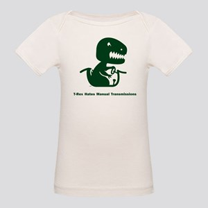 T-Rex Hates Organic Baby T-Shirt