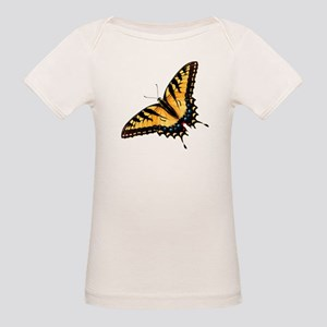Tiger Swallowtail Butterfly Organic Baby T-Shirt