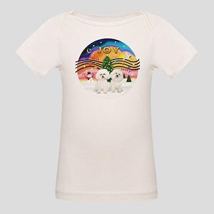 XMusic2 - Two Bichon Organic Baby T-Shirt