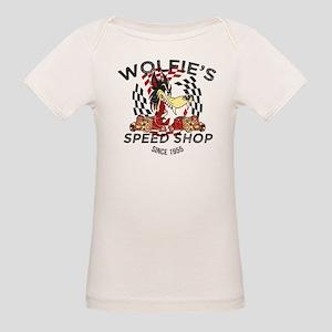 Wolfie's Speed Shop Organic Baby T-Shirt