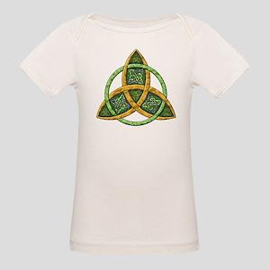 Celtic Trinity Knot Organic Baby T-Shirt
