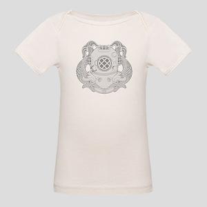 First Class Diver Organic Baby T-Shirt