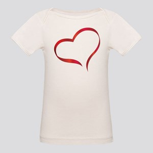 Heart Organic Baby T-Shirt
