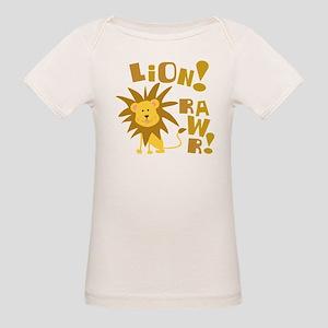Lion Rawr Organic Baby T-Shirt