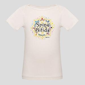 Spina Bifida Lotus Organic Baby T-Shirt