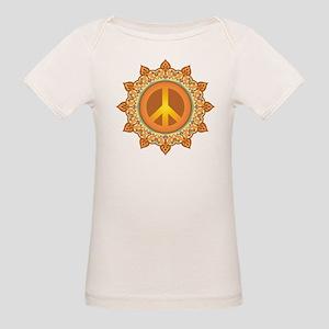 Peace Sign Organic Baby T-Shirt