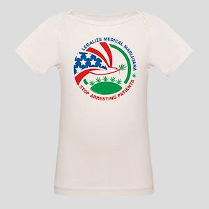 Legalize Marijuana Stop Arres Organic Baby T-Shirt