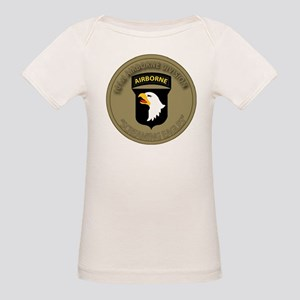 101st airborne screaming eagl Organic Baby T-Shirt