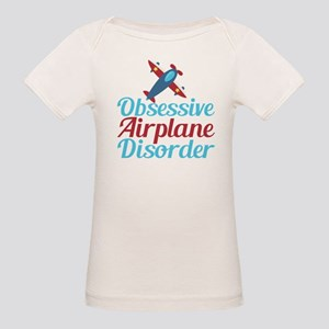 Cool Airplane Organic Baby T-Shirt