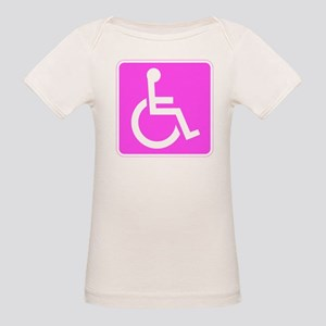 Handicapped Disabled Female Woman T-Shirt