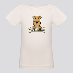 Personalized Airedale Organic Baby T-Shirt