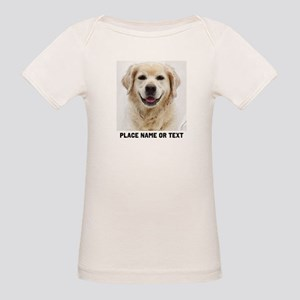 Dog Photo Customized Organic Baby T-Shirt