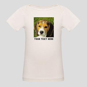 Dog Photo Personalized Organic Baby T-Shirt
