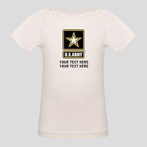 US Army Star Organic Baby T-Shirt