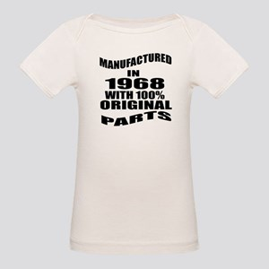 Manufactured In 1968 Organic Baby T-Shirt
