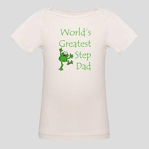 Greatest Stepdad Organic Baby T-Shirt