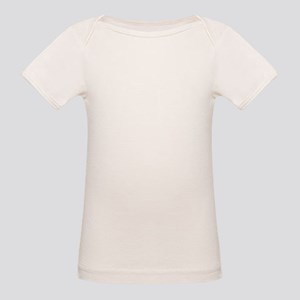 Taekwondo Female High Kick Organic Baby T-Shirt