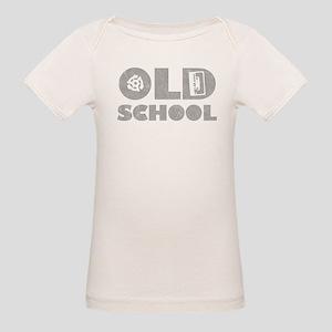 Old School (Distressed) Organic Baby T-Shirt