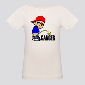 Piss On Cancer -- Cancer Awareness Organic Baby T-