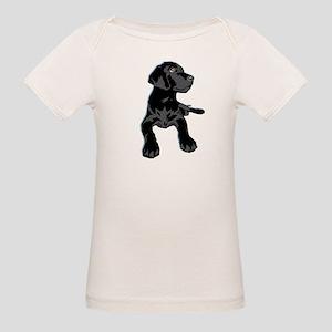 Black Lab Organic Baby T-Shirt