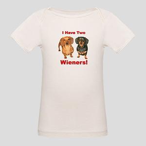 Two Wieners Organic Baby T-Shirt